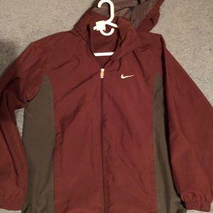 Nike windbreaker jacket with hood